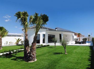 Immobilier Espagne Maison Villa Neuve De Plain Pied Moderne Marina Costa Blanca Achat