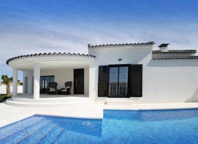 Immobilier espagne maison villa neuve de plain pied moderne marina costa blanca achat - Villa moderne plain pied hadamik ...